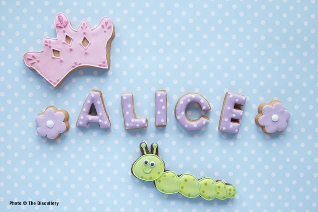 Princess Alice and the caterpillar