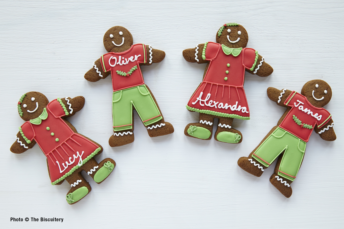 Gingerbread friends and colleagues
