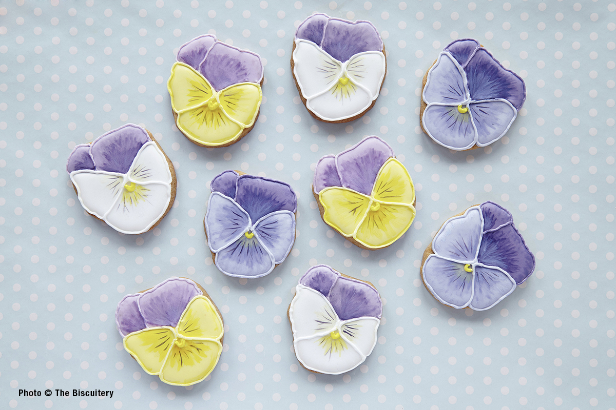 Pansies - wedding favours